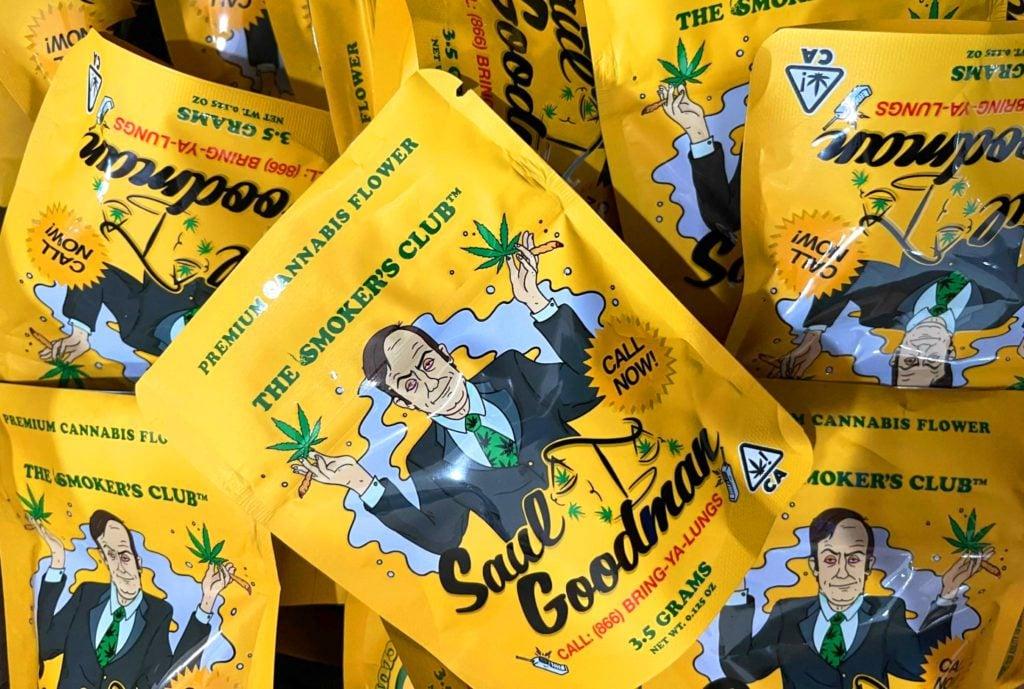 Saul Goodman bags_Emjay and The Smoker's Club